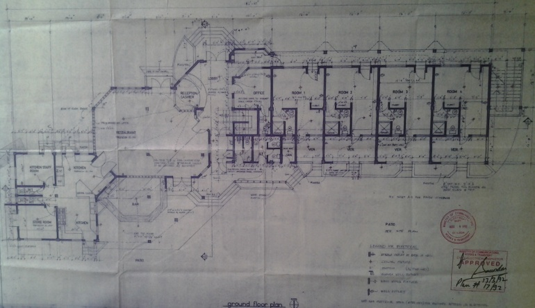 Ground Floor Plan B Saltibus Guest House VF