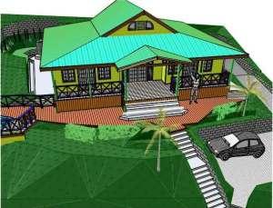 P FRAITES HOUSE 3D
