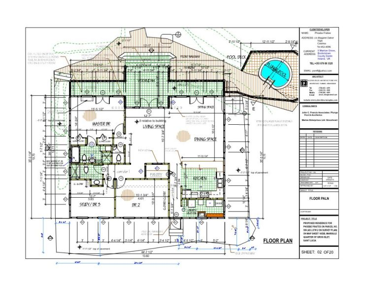 p fraites house floor plan